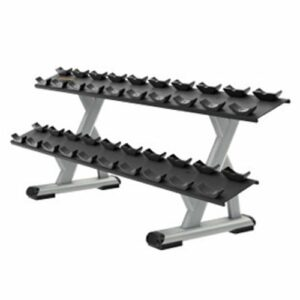 DBR0812 2 Tier 10 Pair Dumbbell Rack