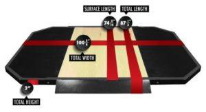 Legend Fitness Olympic plateform 3131