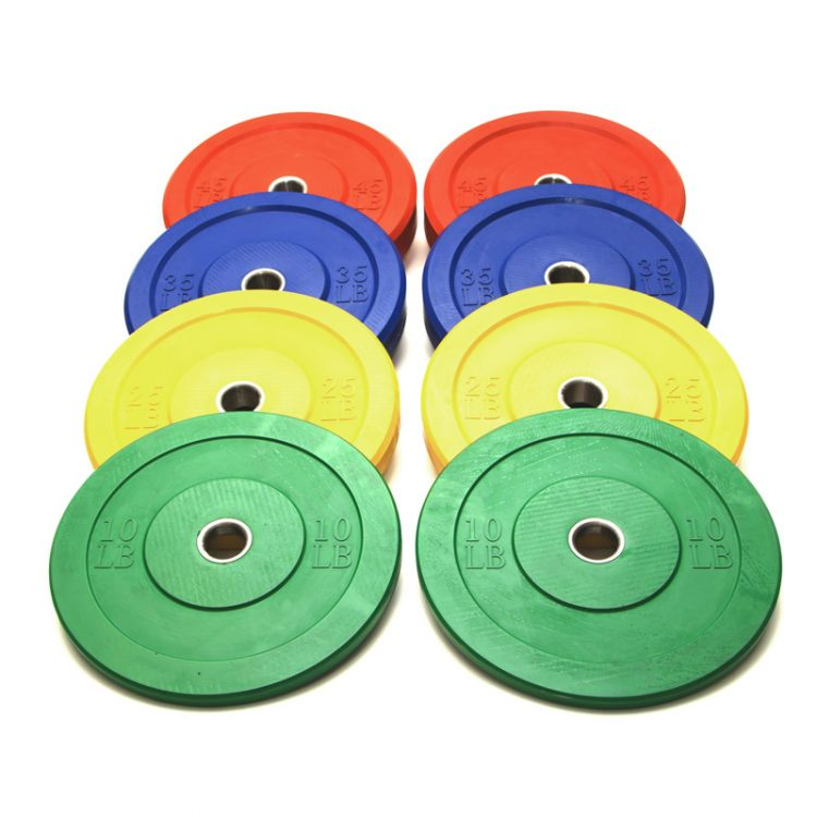 Colored Bumper Plate Set